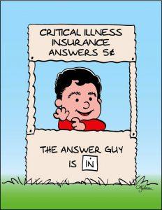 Association for critical illness insurance