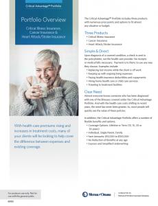 Mutual of Omaha critical illness insurance compare
