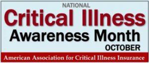 Critical Illness Awareness Month logo