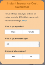 calculator critical illness insurance 1